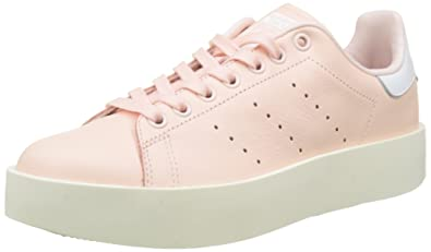 adidas Stan Smith Bold, Baskets Femme, Rose Iced Pink/Footwear White, 36