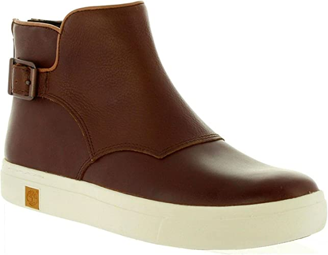 descuento de venta caliente modelos de gran variedad calidad estable Timberland Womens Amherst Chelsea Glazed Ginger Leather Boots 4.5 ...