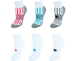 Champion womens Double Dry 6-pair Pack Performance Ankle Socks