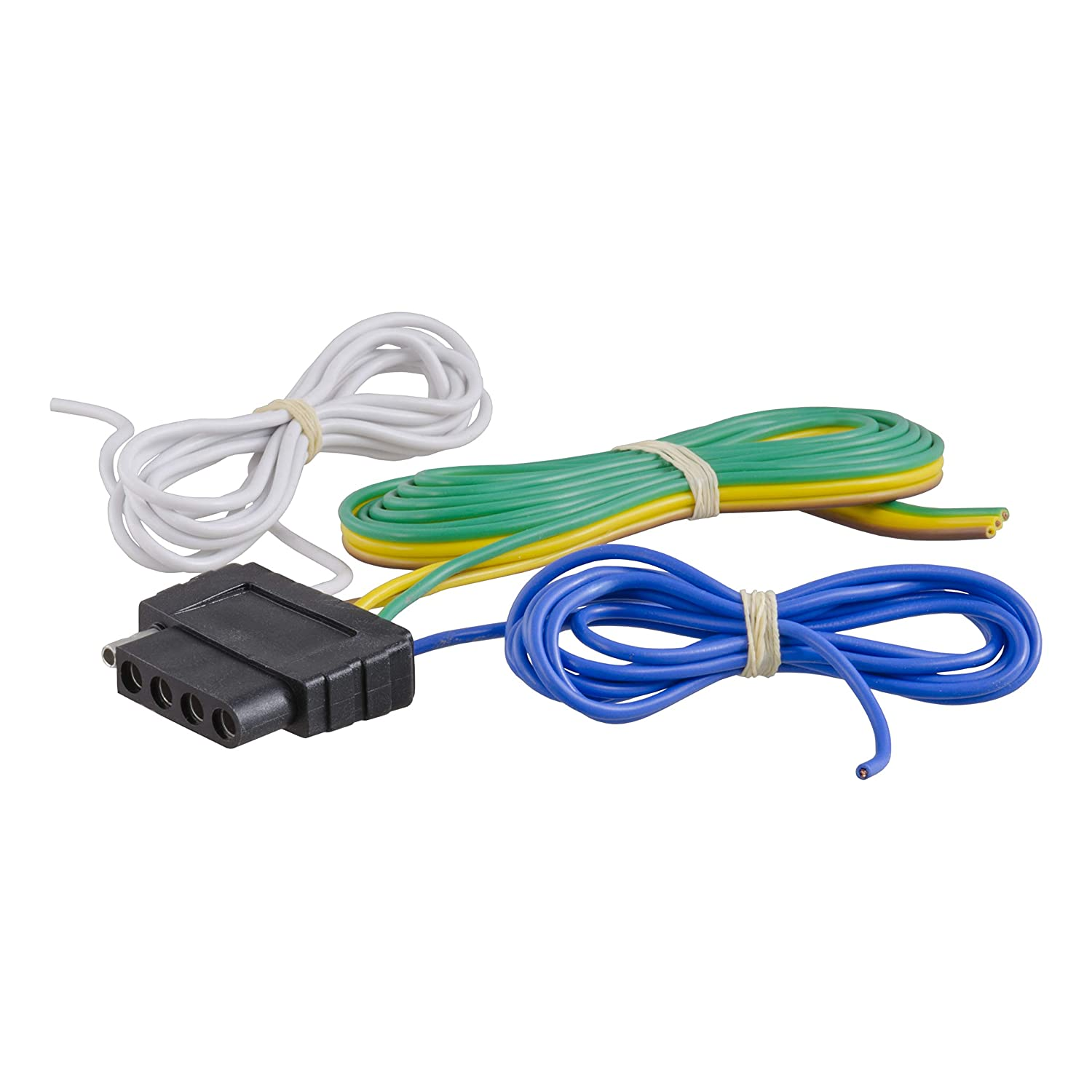 curt 58530 vehicle side 5 pin trailer wiring harness with 60 inch wires, 5 wire trailer wiring 5 Pin Trailer Wiring Harness