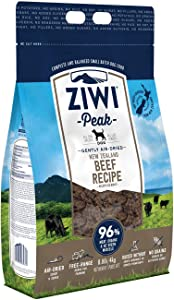 ZIWI Peak Air-Dried Dog Food & Topper Recipe - Natural High Protein, Alternative to Raw, Limited Ingredient