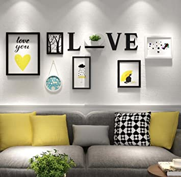 Amazon.com : Living Room TV Background Wall Hanging Painting ...
