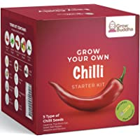 Chilli Seeds Grow Your Own Chilli Starter Kit