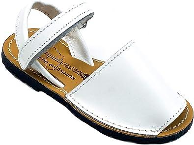 Zapatos Menorquina niño niña Piel Cuero Hecho en España Sandalia: Amazon.es: Zapatos y complementos