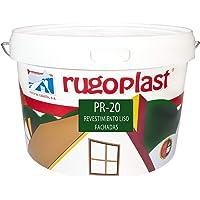 Rugoplast - Pintura economica de exteriores blanca revestimiento