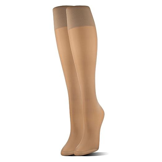 f5eb73e4eeb MediPeds Women s Mild Compression Support Knee High Socks Fit