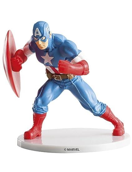 Figura Capitan America Vengadores Avengers Marvel