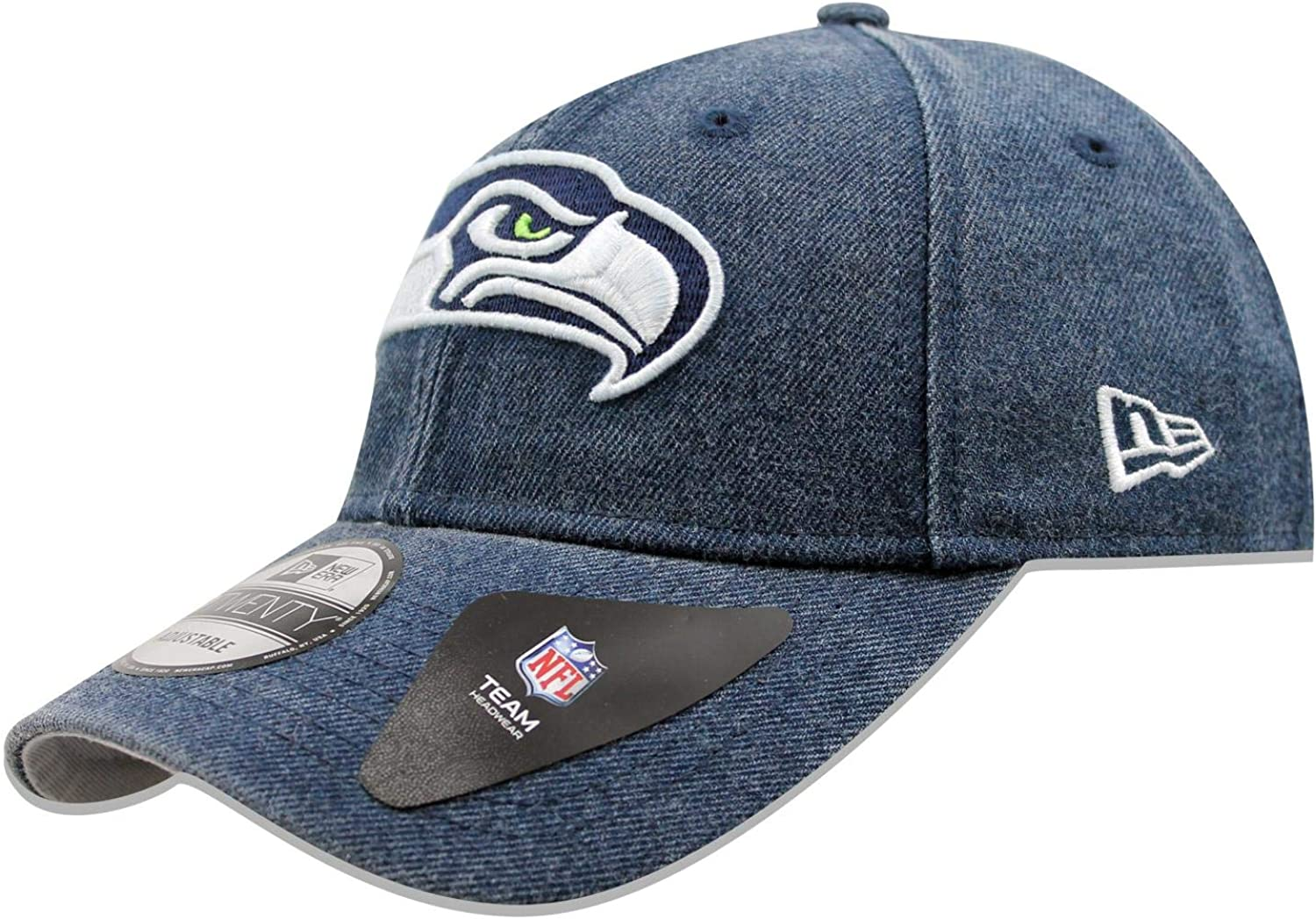 NFL Seattle Seahawks New Era The League 9FORTY Adjustable Cap Hat Headwear