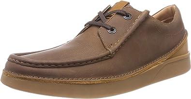 TALLA 39.5 EU. Clarks Oakland Seam, Zapatos de Cordones Derby para Hombre