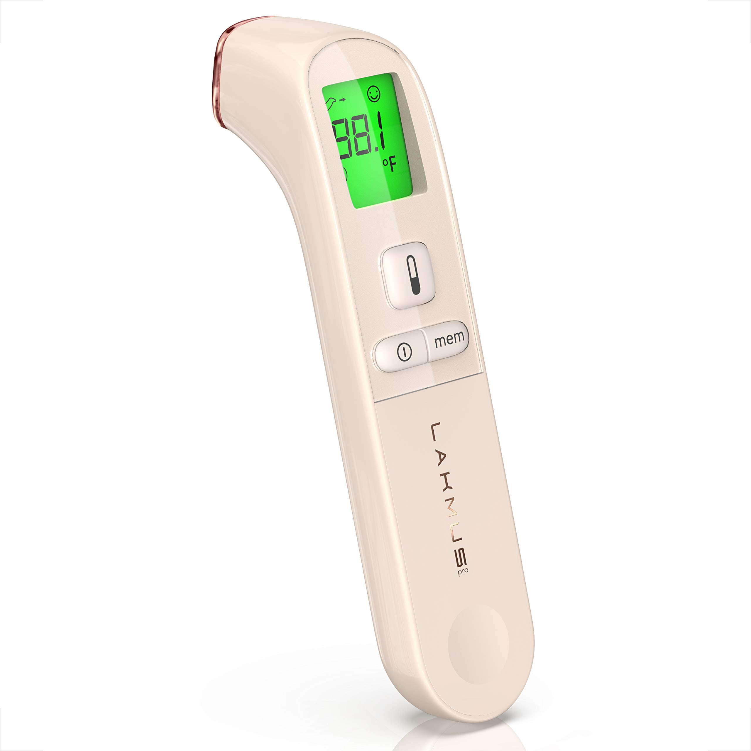Lakmus Medical Forehead Thermometer for Baby Kids - Instant Accurate Reading - Digital Infrared Temporal Thermometer for Fever - Portable Thermometer with Premium Case - Model of Fast Baby Thermometer by Lakmus Pro