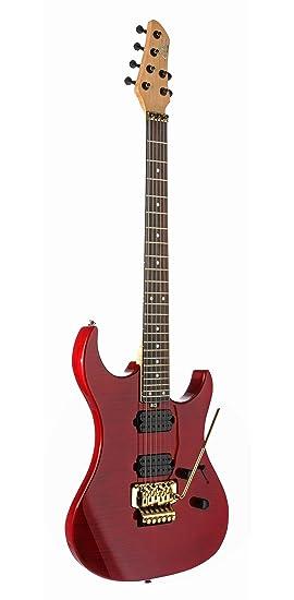 EKO Fire Lite Wine Red - Guitarra eléctrica para principiantes: Amazon.es: Instrumentos musicales