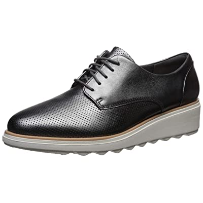 CLARKS Womens Sharon Crystal Lace Up Shoes | Oxfords
