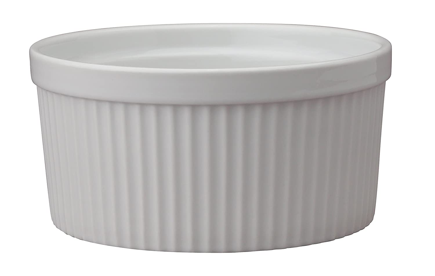 HIC Porcelain Souffle 6-inch, 32-ounce Capacity HIC Brands that Cook 98010