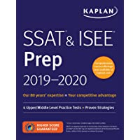 SSAT & ISEE Prep 2019-2020: 4 Upper/Middle Level Practice Tests + Proven Strategies