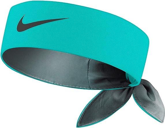 Nike Roger Federer Rafael Nadal Dri Fit Tie Up Headband Bandana Turquoise Jade Black Amazon Co Uk Clothing