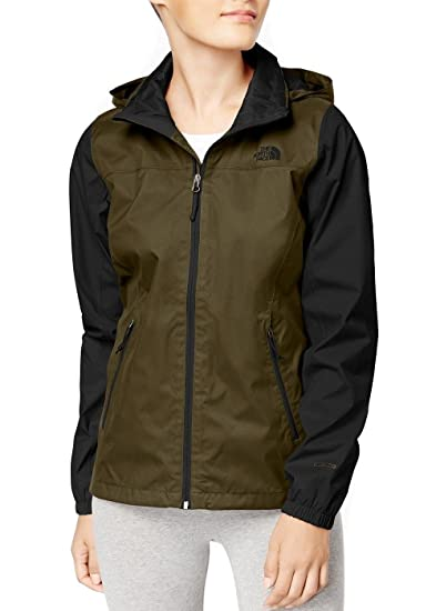 0a59c9d9d8c The North Face Coast Women s Waterproof Resolve Plus Rain Jacket at Amazon  Women s Coats Shop