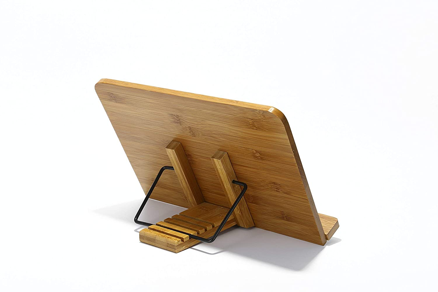 e57df0f52ef Bamboo Table Reading Book Stand    Cook Book IPad Holder with Light Lamp -  100. Cabelas Fleece Beanie with Polygiene Westhem ...