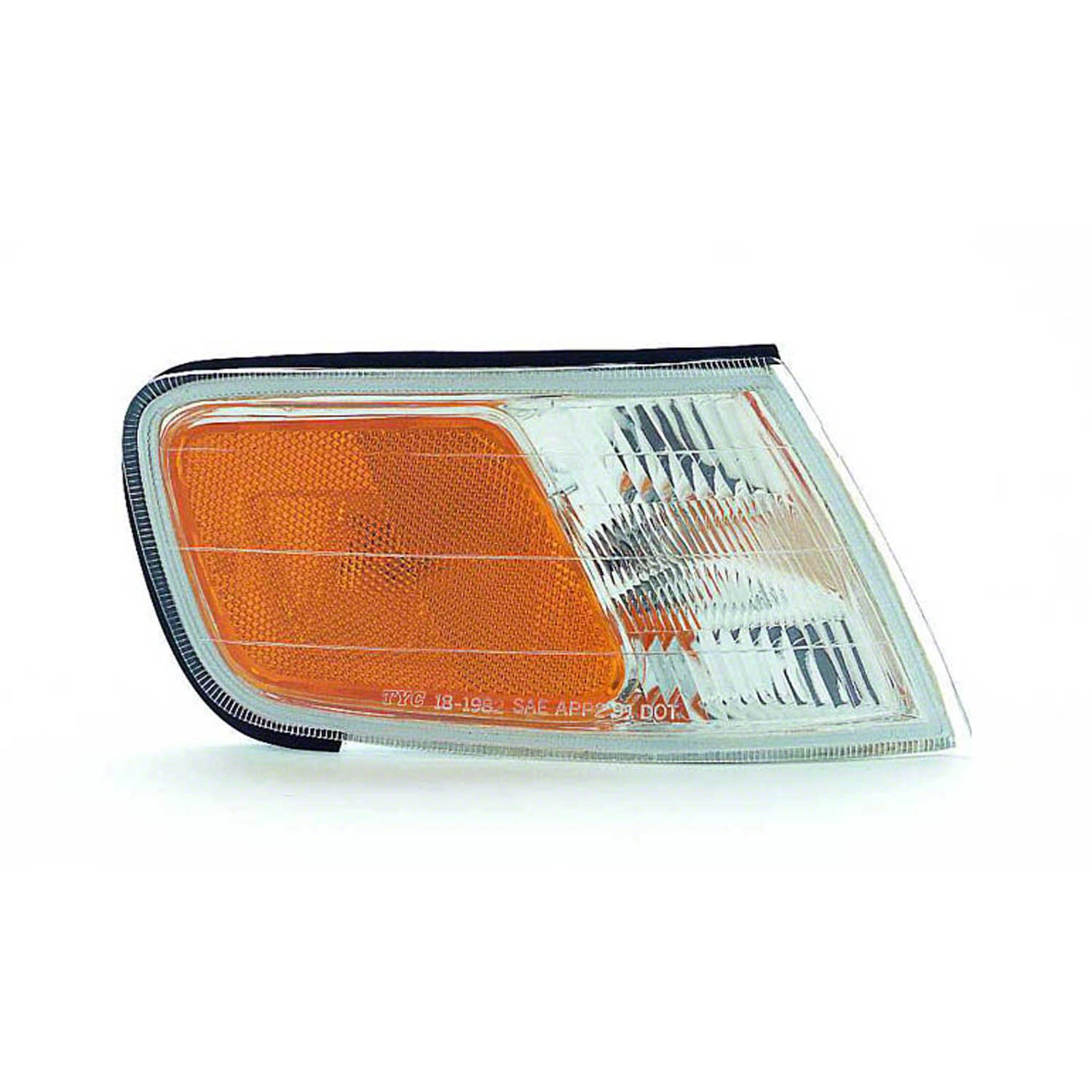 PASSENGER SIDE CORNER LIGHT Honda Accord PARK/SIDE MARKER LIGHT; RH Headlights Depot HO2551109