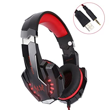 Gaming Headset für PS4 PC Xbox one, Surround Sound: Amazon.de ...