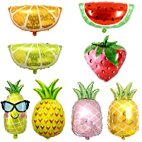 Fruit Foil Balloon Colorful Pineapple Watermelon Strawberry Lemon Helium Hawaii Party Balloons for Wedding Birthday Baby…