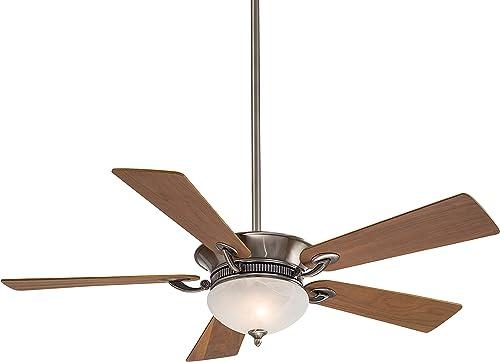 Minka-Aire F701-PW Delano 52 Inch Ceiling Fan