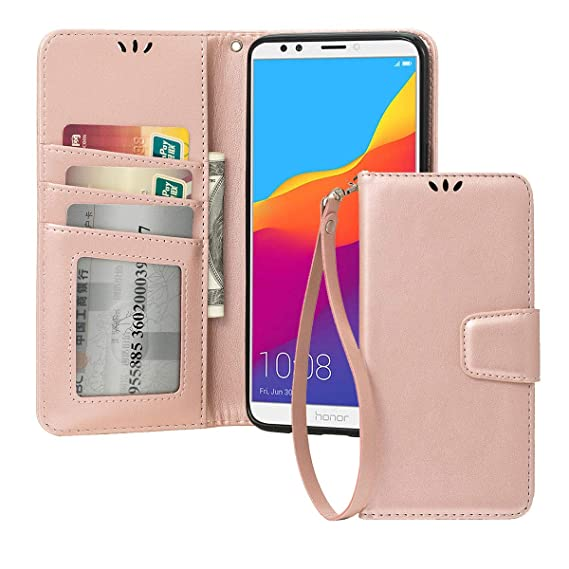 Flip Cover For Honor Protection Smart Phone Case Card Pocket Cases, Covers & Skins Cell Phones & Accessories
