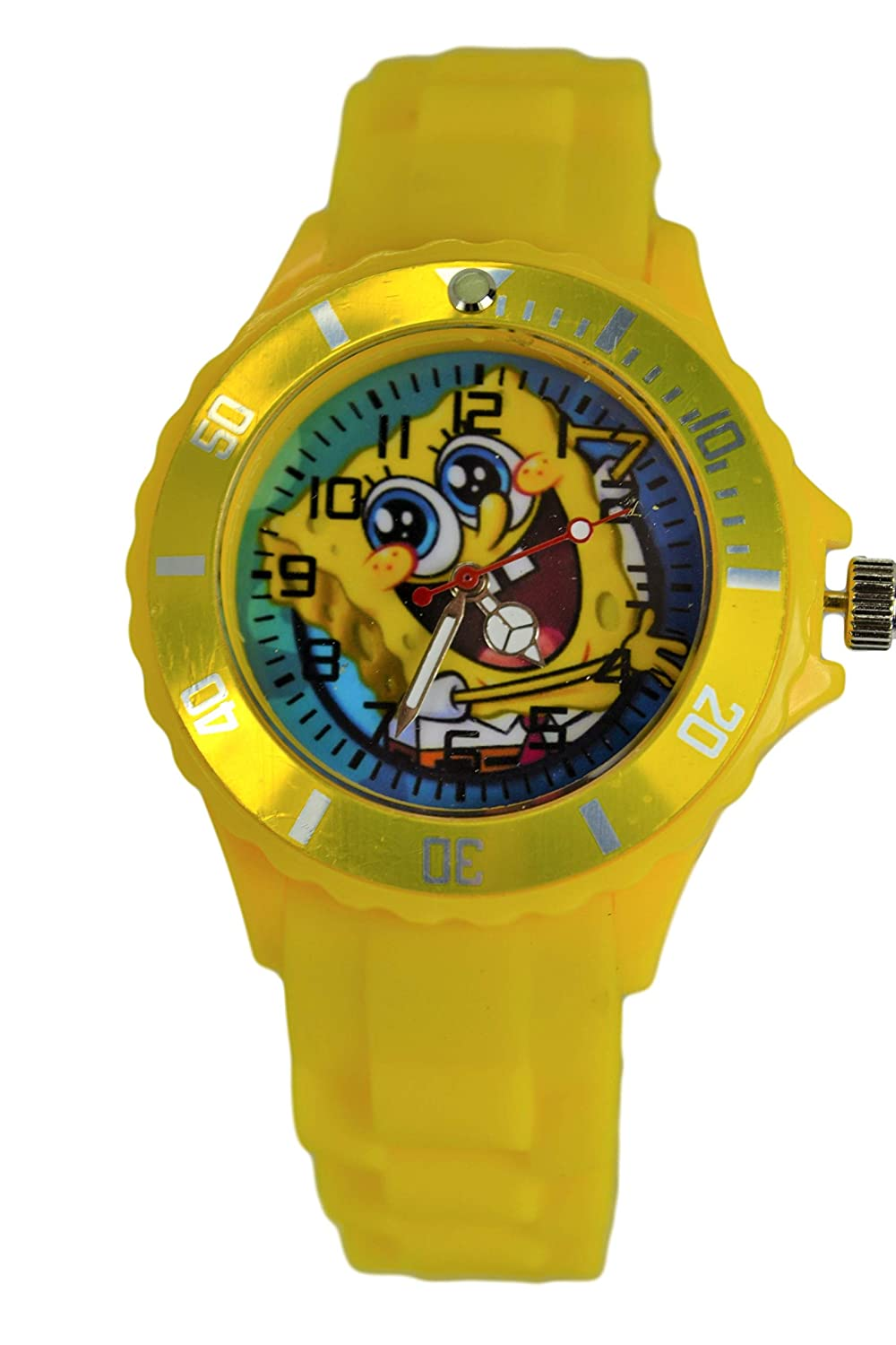 Amazon.com: SpongeBob SquarePants Wrist Watch for Children Boys Girls Analog Watch Display.: Watches