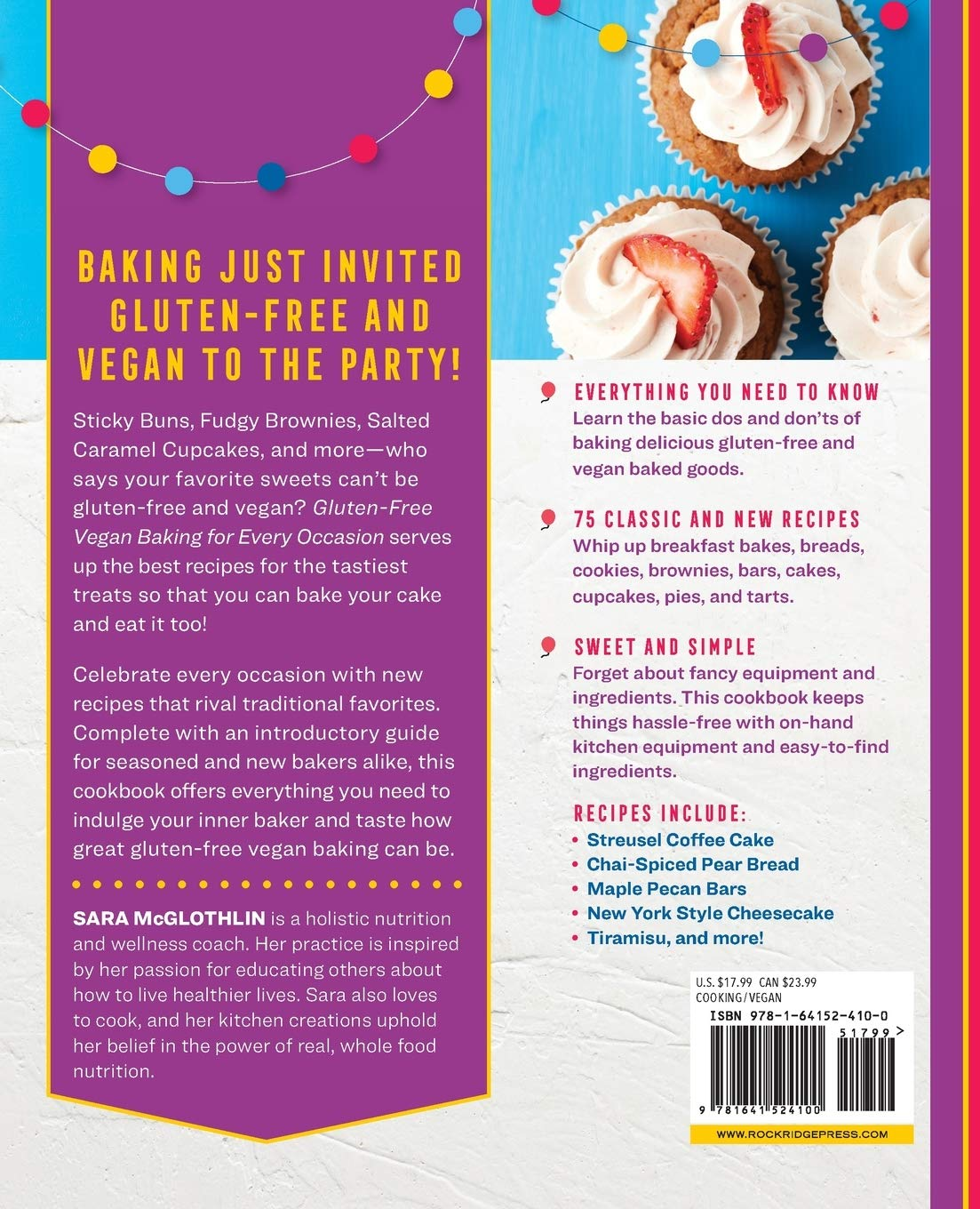 Gluten-Free Vegan Baking for Every Occasion: 75 Classics and ...