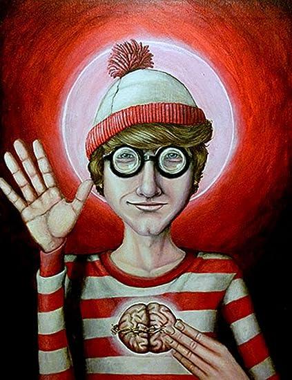 Amazon com: Wheres Waldo by Jon Hoffman Boy in Costume with