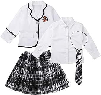 Agoky Uniforme de Escolar Japonés para Niña Chica Conjunto Traje ...