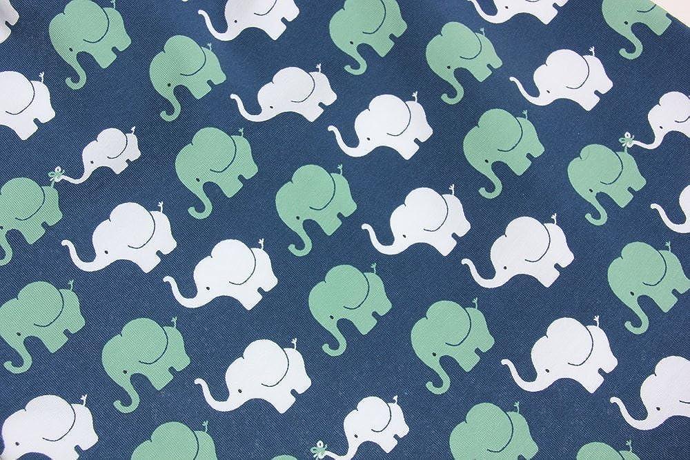 Baby Pumphose Elefanten Dunkelblau Baby-Hose f/ür Junge Jerseyhose Haremshose produziert in Deutschland