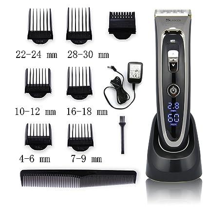 Surker Grooming - Cortapelos profesional eléctrico y ajustable 507e2e8c4874