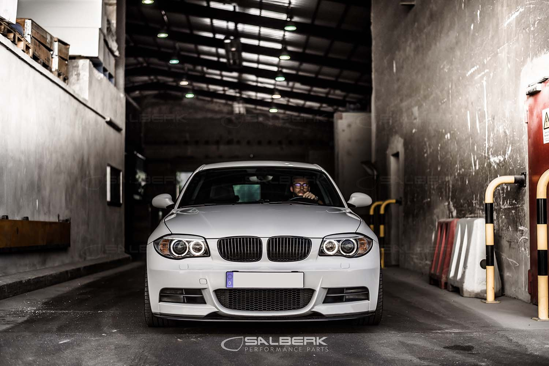 salberk Performance 8201 Negro Riñones para BMW E87 N E81 E82 E88: Amazon.es: Coche y moto