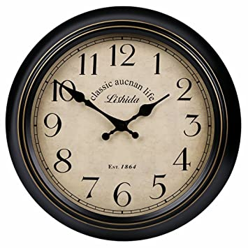 Amazon.de: FPigSHS wanduhren Wanduhr Glocke Uhr für Wohnzimmer Büro ...
