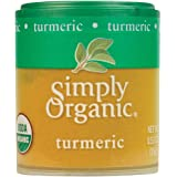 Simply Organic Ground Turmeric Root, Certified Organic | 0.53 oz