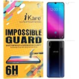 iKare Sajni Creations Strong Plastic Fibre Flexible impossible Transparent Front and Back Tempered Screen Guard Protector for Vivo V11 Pro