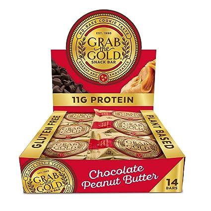 Barras de aperitivos de Grab The Gold, orgánicas, sin gluten ...