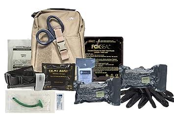54836606359 Tasmanian Tiger Base Medic Pouch MK2 Trauma Individual First Aid Kit (IFAK)  (Coyote