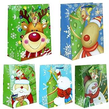 Taunus Grußkarten Verlag 10 Geschenktüten Weihnachten Kinder MEDIUM ...