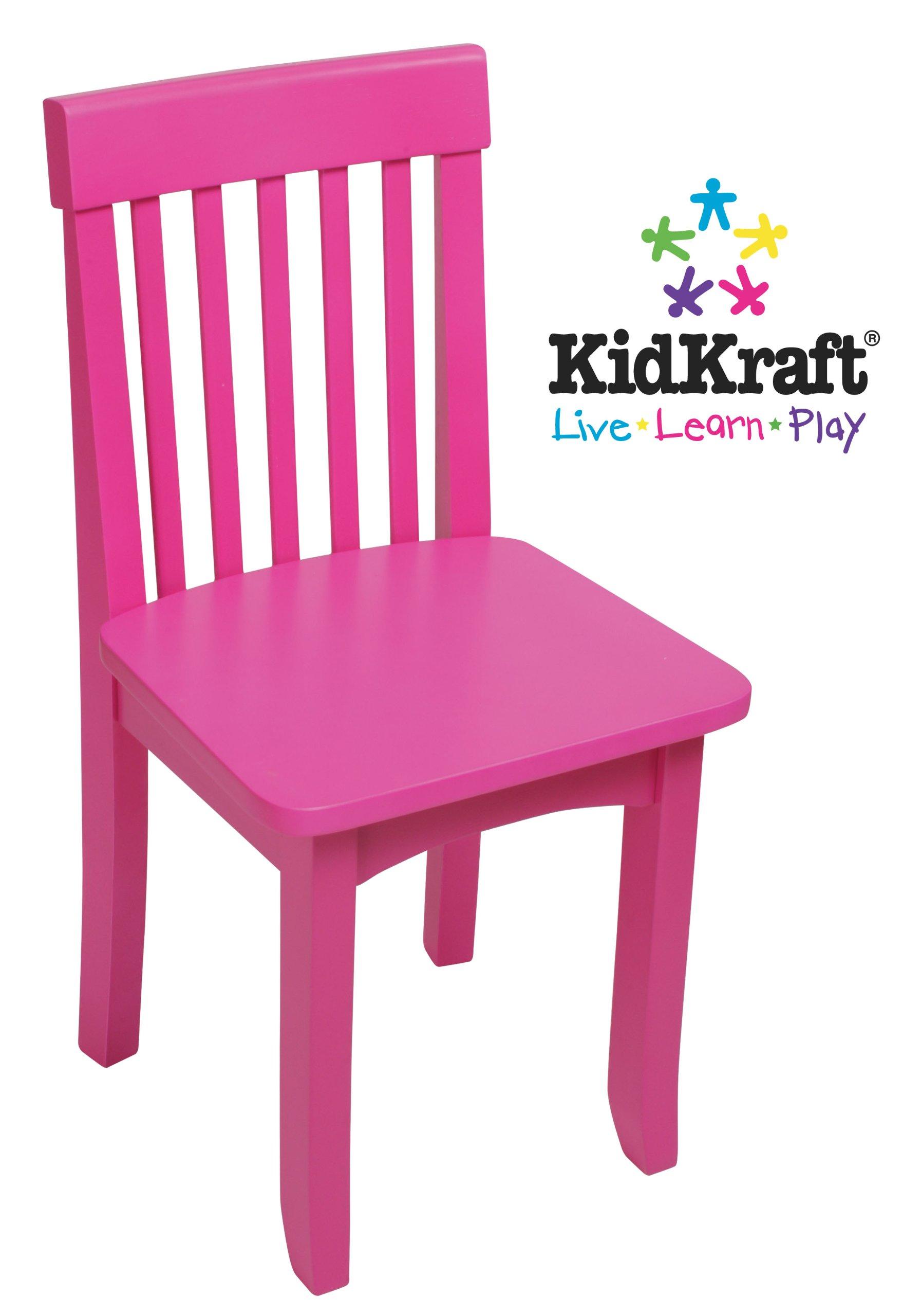 Kidkraft Avalon Chair For Children- Rasberry