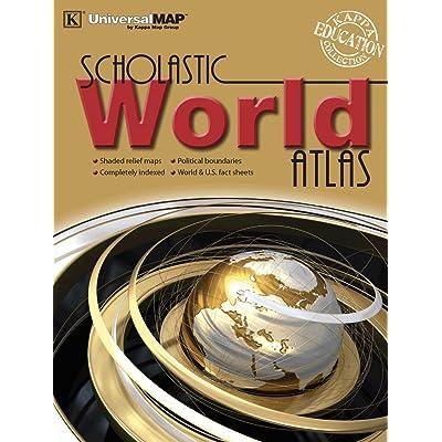 Kappa Map Group World Scholastic Atlas: Kappa Map Group, LLC: Toys & Games