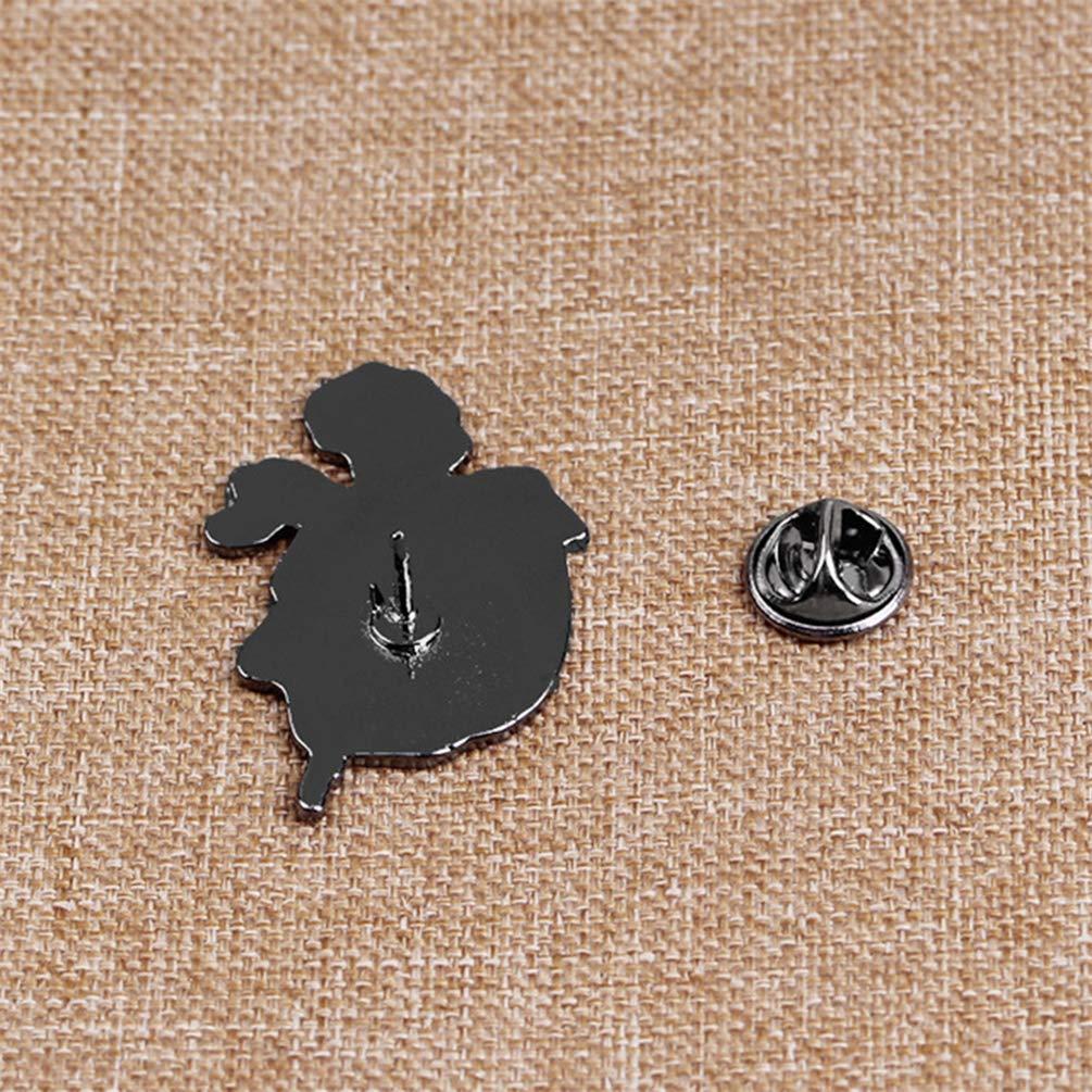 Blume Jacke bismarckbeer/_ Anstecknadel Taschen-Dekoration Halloween-Design Totenkopf Rose Denim