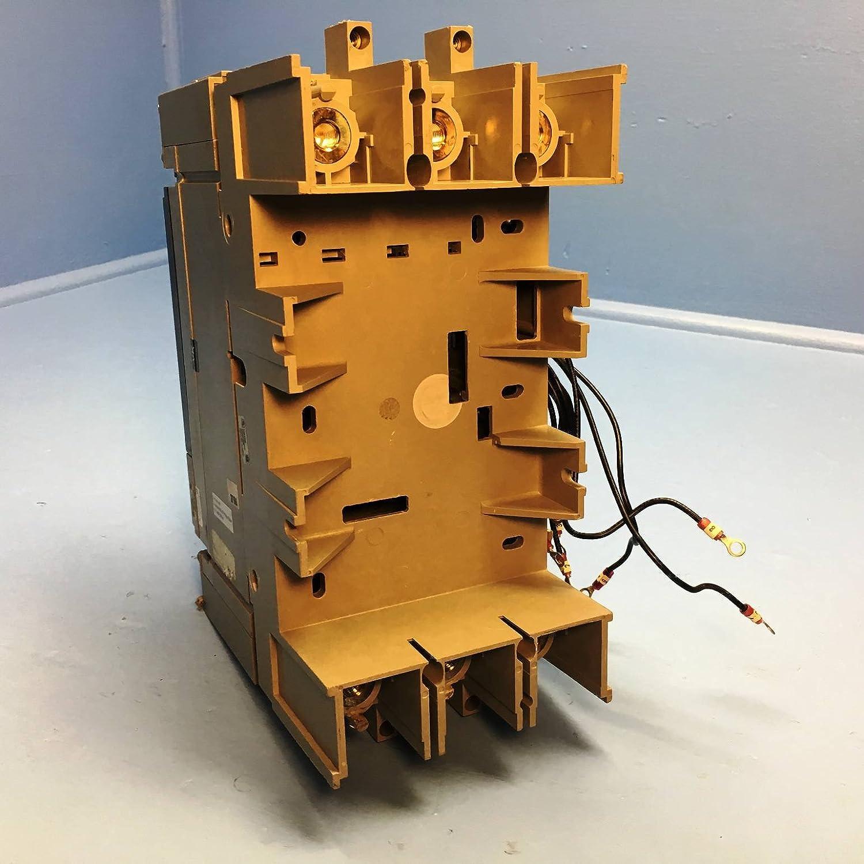 Merlin Gerin Nsj400n 3 Pole 400 Amp 600vac Circuit Breaker Used Used