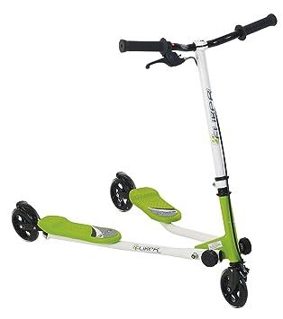 Patinete nueva generación 3 ruedas Fliker (verde): Amazon.es ...