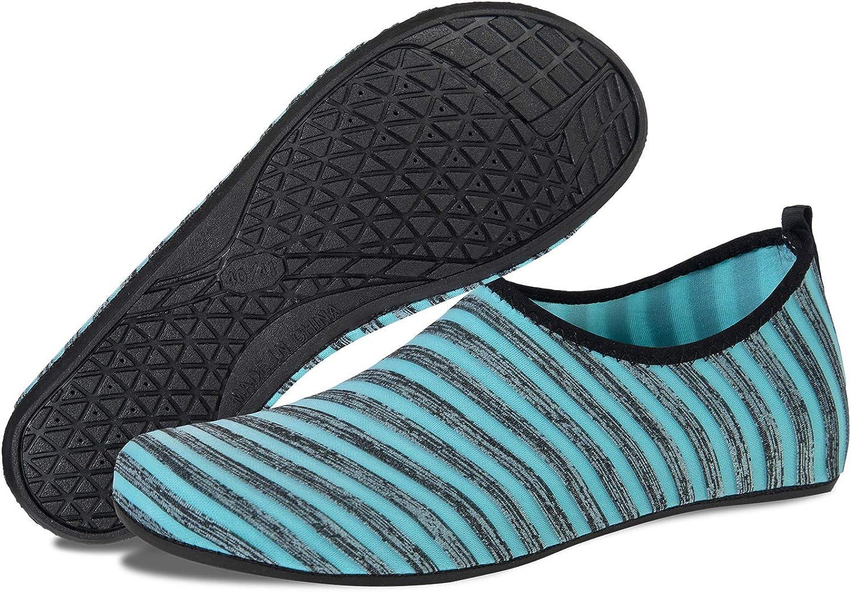 Scarpe da Immersione Donna Uomo Scarpe da Acqua Scarpe da Spiaggia Antiscivolo Scarpe da Bagno Yoga da Surf Scarpe