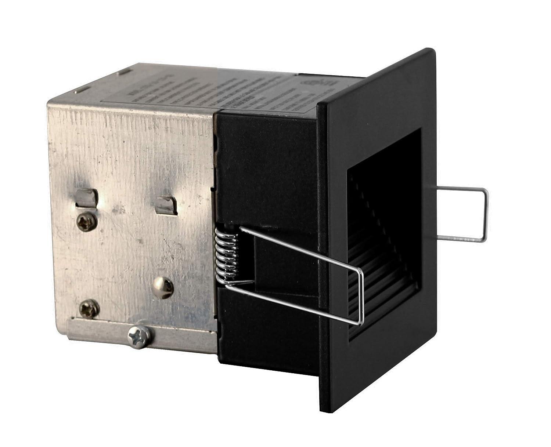 NICOR Lighting STQ-10-120-WH LED Square Step Light White