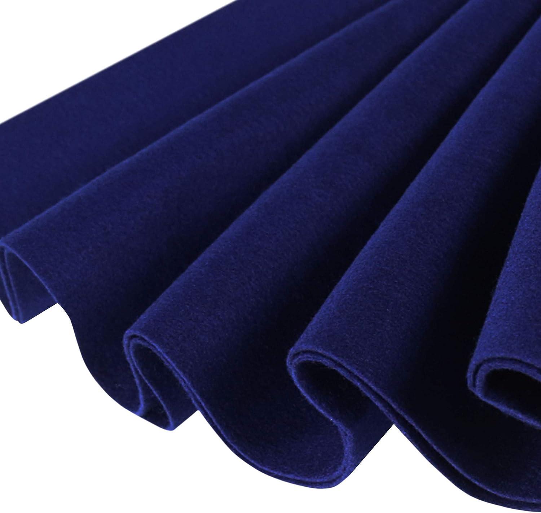 FabricLA Acrylic Felt by The Yard 72 Wide X 1 YD Long Royal Blue