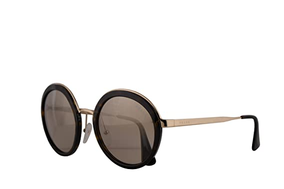 57332f986c7a0 Image Unavailable. Image not available for. Color  Prada PR50TS Sunglasses  Tortoise w Light Brown Mirror Gold Gradient ...