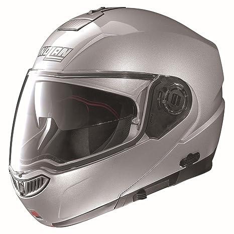 Amazon.com: Nolan N-104 MCS, casco, L, Platino (Platinum ...