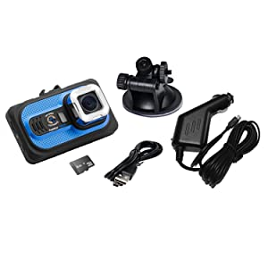 Top Dawg EagleEye 1080P DVR Dash Camera w/G-Sensor & 8 GB SD